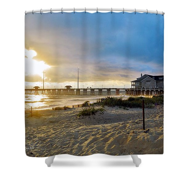 October 3 2016 Obx Sunrise Shower Curtain