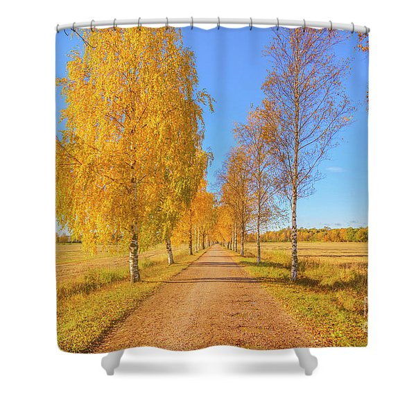 October Countryside Shower Curtain