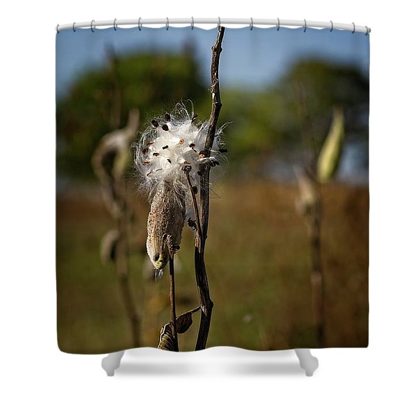 October Forests Shower Curtain