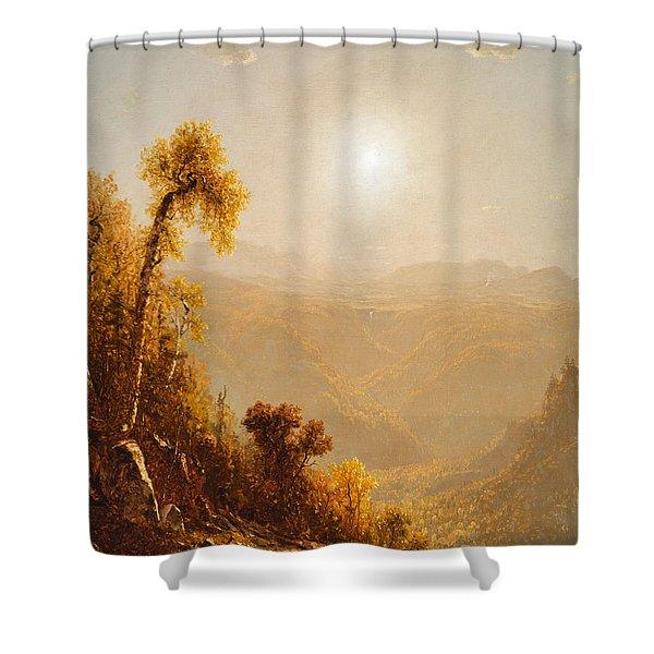 October In The Catskills Shower Curtain