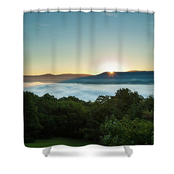 October Sunrise 2016 Shower Curtain