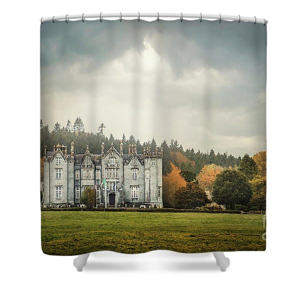 October's Embrace Shower Curtain