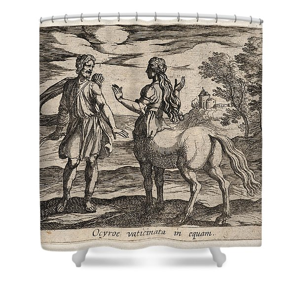 Ocyrhoe Changed Into A Horse Shower Curtain