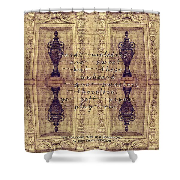 Ode To A Grecian Urn Palais Garnier Paris France Shower Curtain