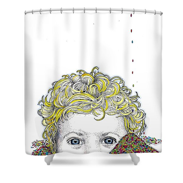 Ode To Sprinkles Shower Curtain