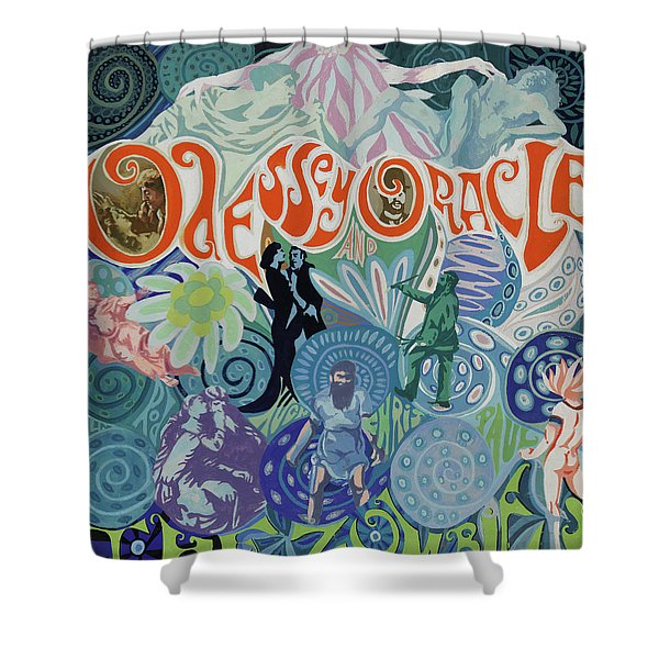 Odessey And Oracle - Album Cover Artwork Shower Curtain