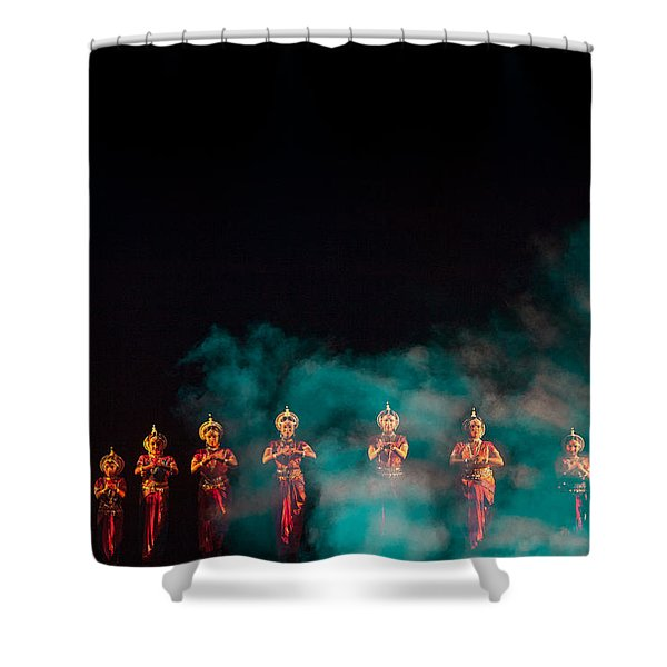 Odissi Princesses Shower Curtain