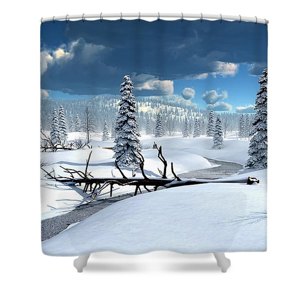 Of Blankets And Sheets Shower Curtain