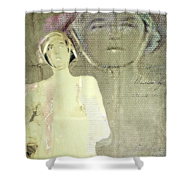 Of Two Minds Or More Shower Curtain