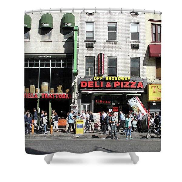 Off Broadway Shower Curtain