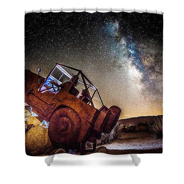 Off-road At Borrego Springs Shower Curtain