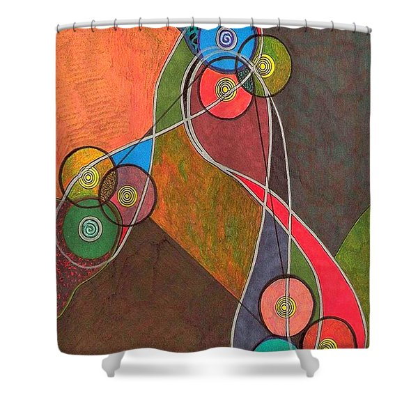 Off The Record Shower Curtain