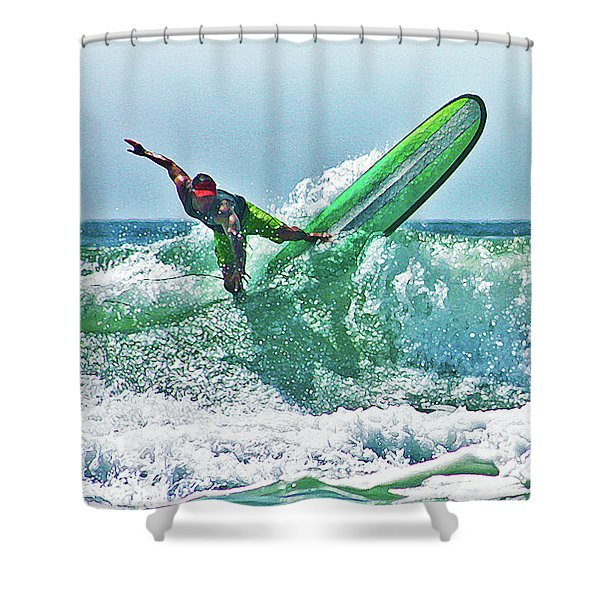 Off The Top Shower Curtain