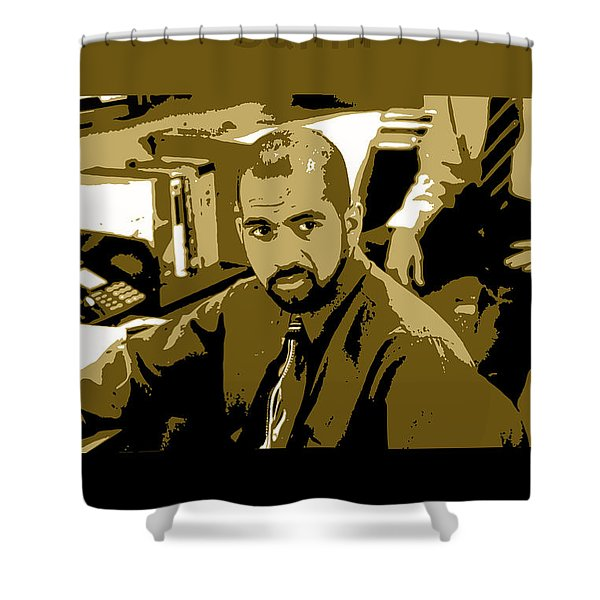 Office Space Samir Nagheenanajar Movie Quote Poster Series 005 Shower Curtain