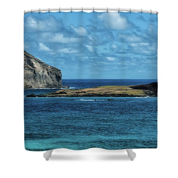 Offshore Islands Shower Curtain