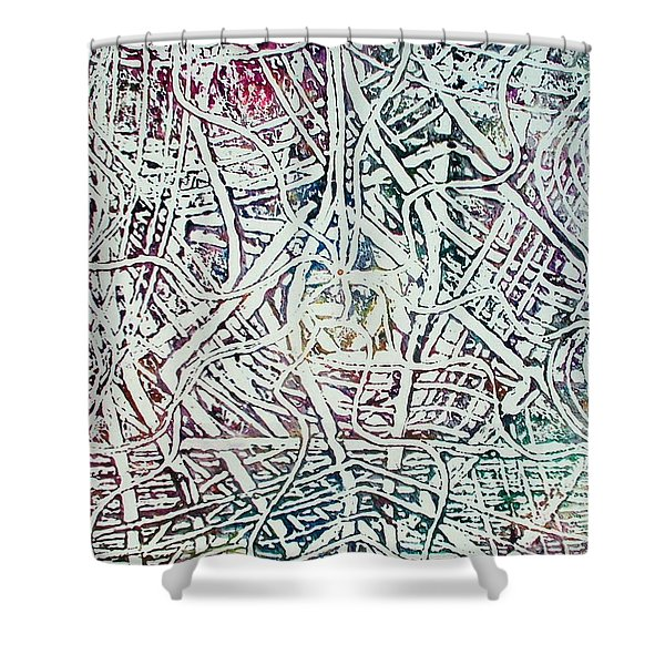 24-offspring While I Was On The Path To Perfection 24 Shower Curtain