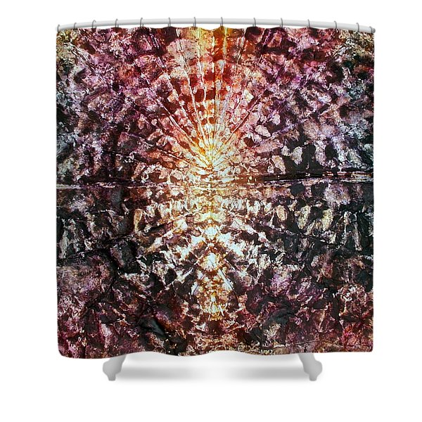 35-offspring While I Was On The Path To Perfection 35 Shower Curtain