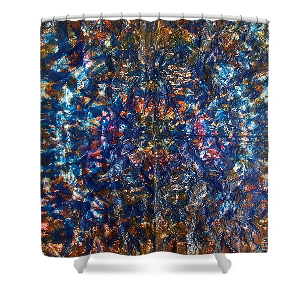 45-offspring While I Was On The Path To Perfection 45 Shower Curtain