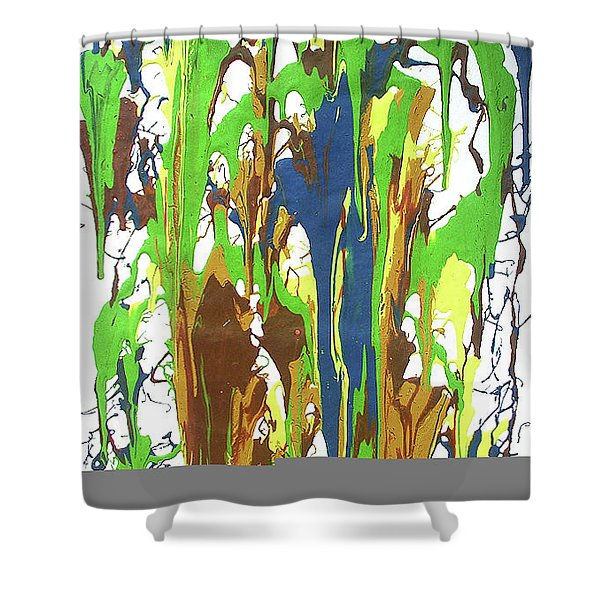 9-offspring While I Was On The Path To Perfection 9 Shower Curtain