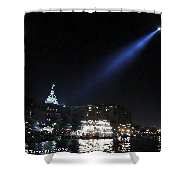Oft Missed Magic Of Savannah Shower Curtain