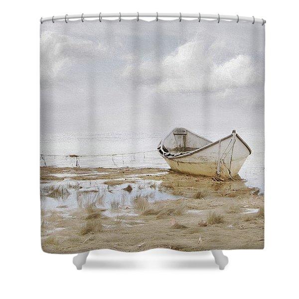 Ogunquit Sky Shower Curtain