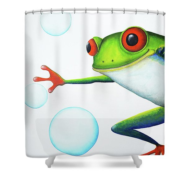 Oh Bubbles Shower Curtain