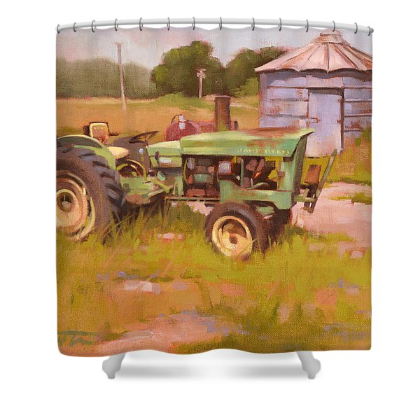Oh Deere Shower Curtain