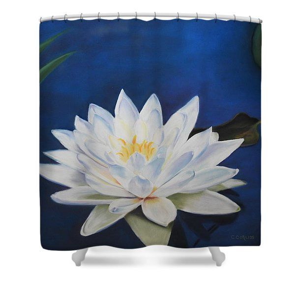 Oh Lily Shower Curtain
