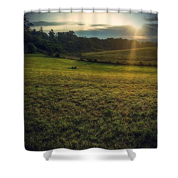 Oh What A Beautiful Morning Shower Curtain