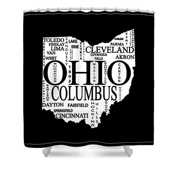 Ohio State Buckeyes Shower Curtains Fine Art America