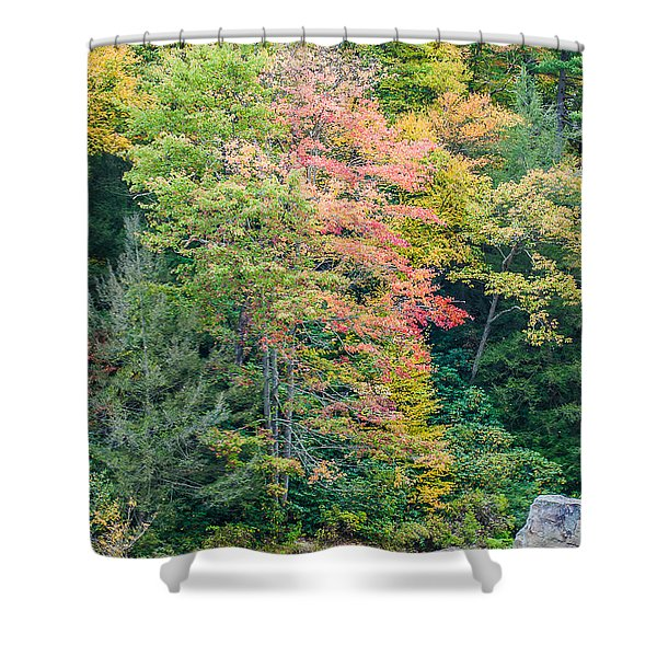 Ohio Pyle Colors - 9709 Shower Curtain