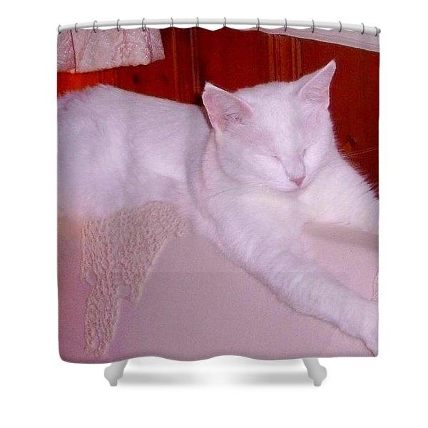 Ohmmmmm Shower Curtain