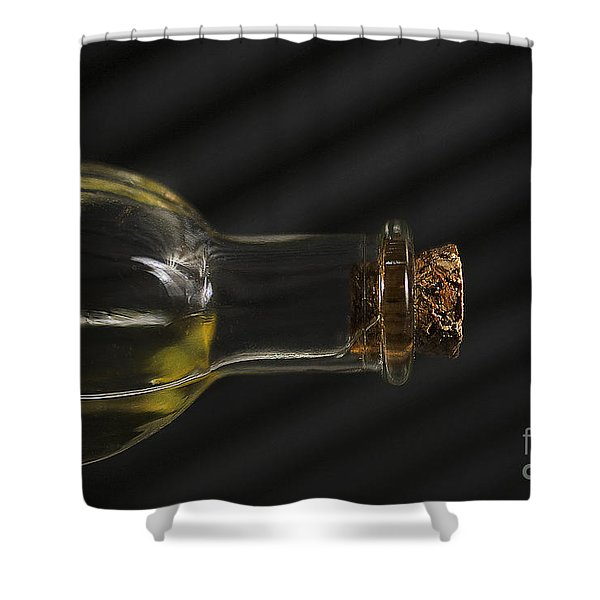Oil Bottle Cork 1092a Shower Curtain