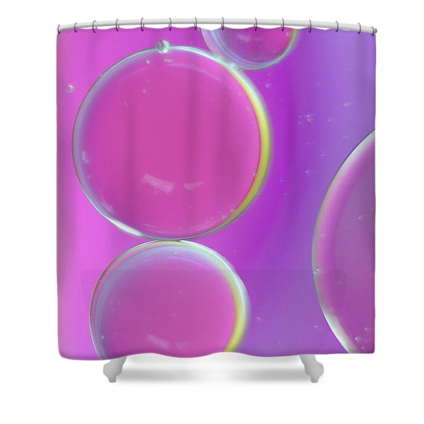 Oil On Water Abstract Shower Curtain