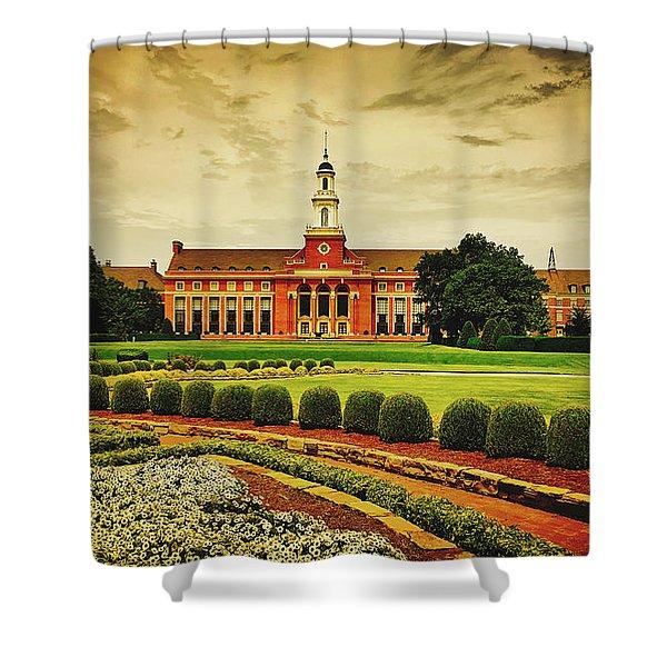 Oklahoma State University Shower Curtain