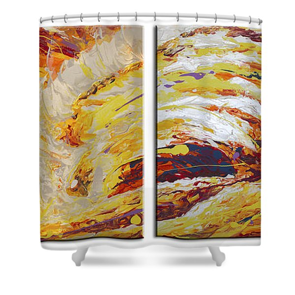 Ola Del Sol Shower Curtain