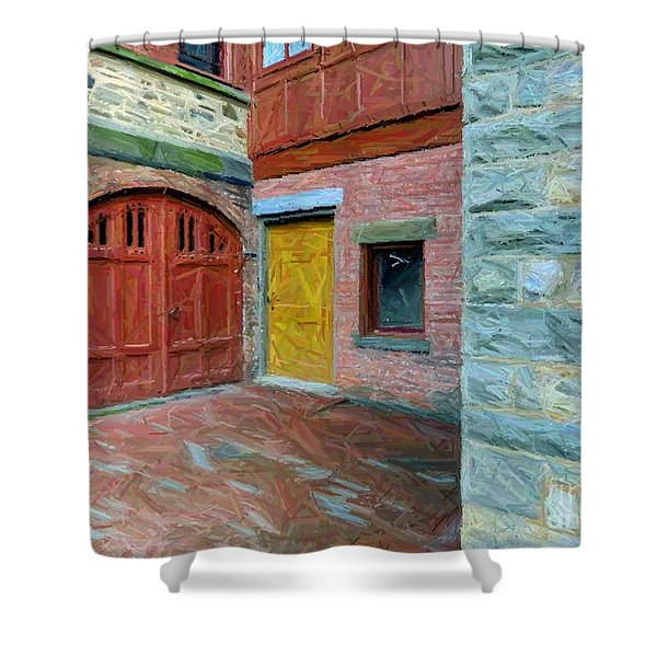 Olana Castle  Shower Curtain