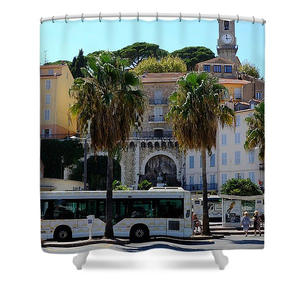 Old And Beautiful Cannes Shower Curtain