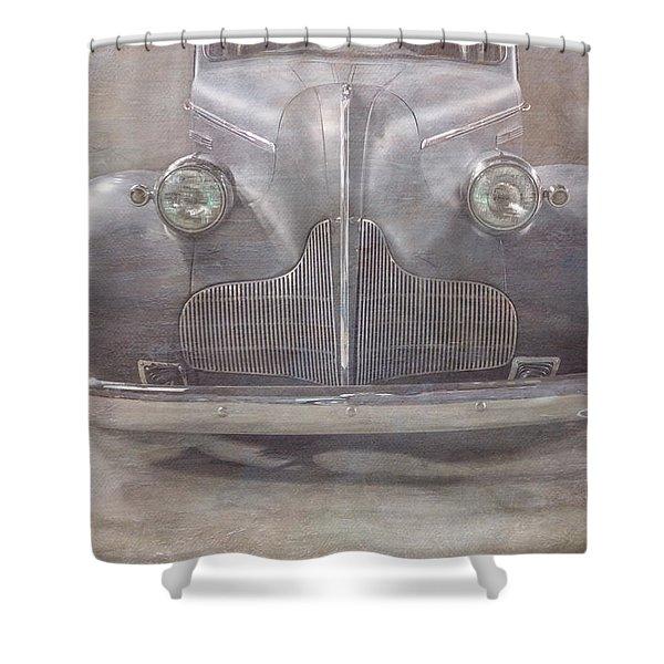 Old Bessie Shower Curtain