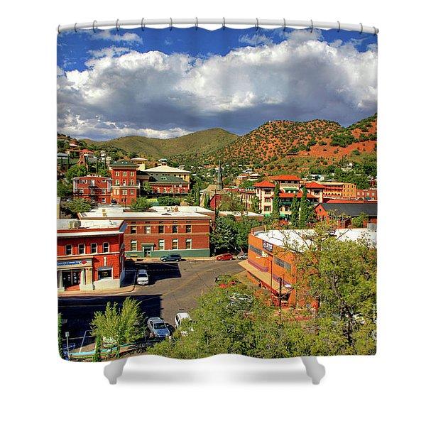 Old Bisbee Arizona Shower Curtain