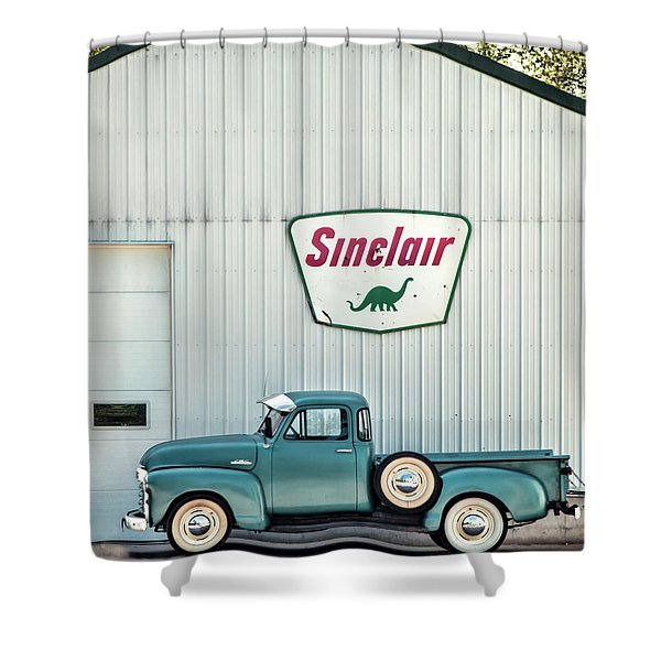 1953 Chevy Shower Curtains