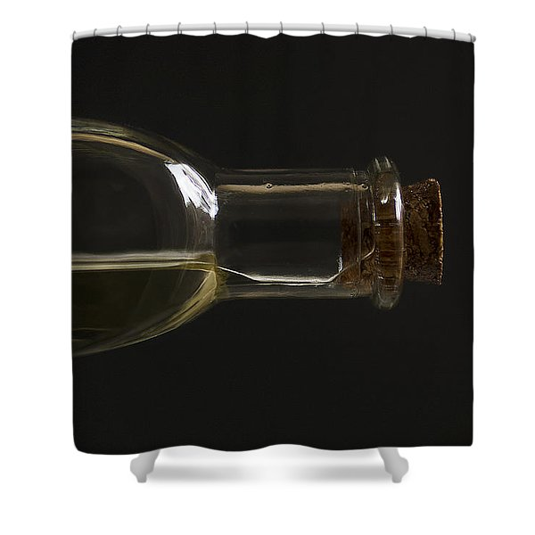 Old Bottle Cork 1194 Shower Curtain