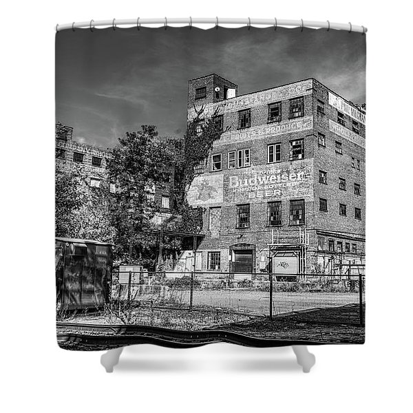 Old Brewery Shower Curtain