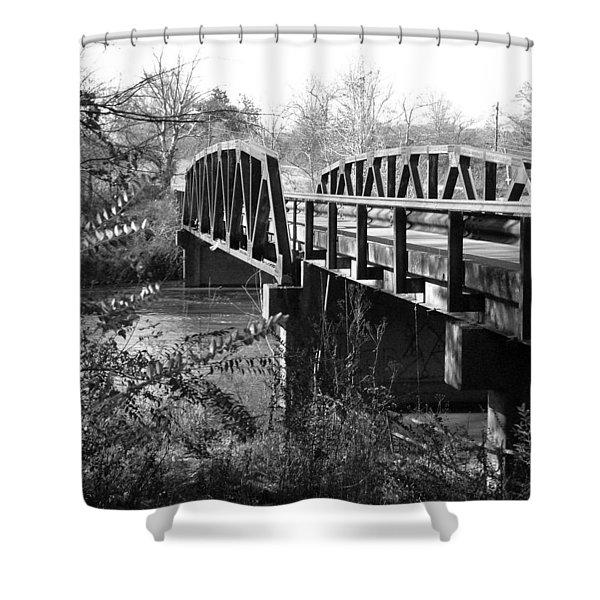 Old Bridge Shower Curtain