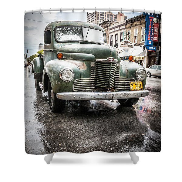 Old But Rolling Shower Curtain
