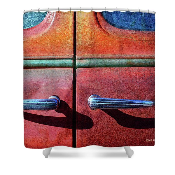Old Car Doors 1 Shower Curtain