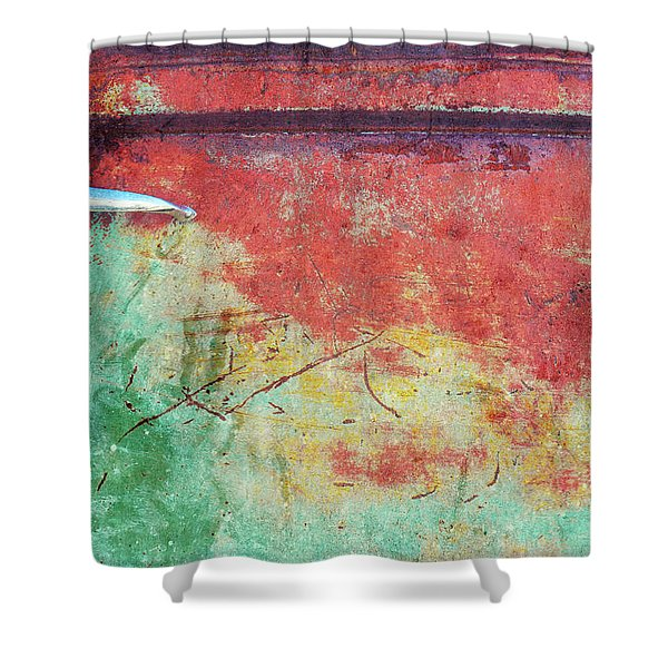 Old Car Doors 2 Shower Curtain
