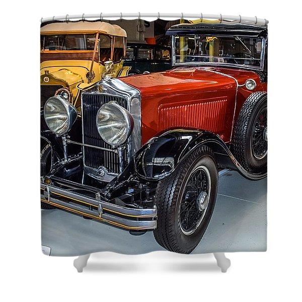 Old Car Shower Curtain