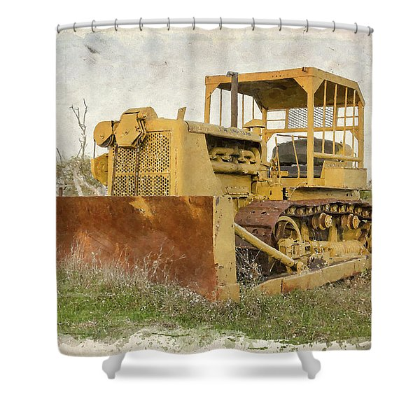 Old Cat Watercolor IIi Shower Curtain