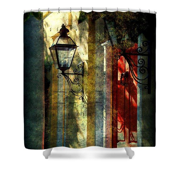Old Charleston Sc Shower Curtain